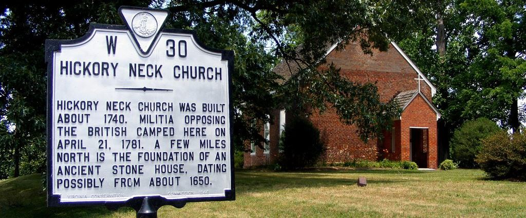 Historic Hickory Neck Episcopal Church, Toano, VA